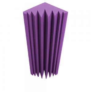 """Акустический поролон """"Пирамида 20"""" (2000х1000х30мм), фиолетовый"""