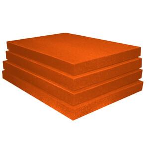 "ППУ ""Листовой 10"" (2000х1000x10мм), оранжевый"